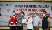 PMI Banten Apresiasi Pendonor Darah Sukarela