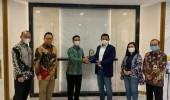 Bank Banten dan Bank BRI Tindak Lanjuti Komitmen Bersama Membangun Sinergi