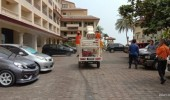 Pantai Anyer dan Cinangka Dibuka Kembali, Satgas Lakukan Desinfeksi