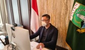 Rakor Covid-19 Dengan Kemenko Perekonomian, Wagub Andika Laporkan Banten Kembali Zona Oranye