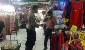 Pedagang Dan Pembeli Di Pasar Induk Di Ingatkan PPKM Darurat