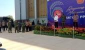 TNI AL Banten Mendukung Serbuan Vaksinasi di Kabupaten Serang di Hadiri Panglima TNI Dan Kapolri