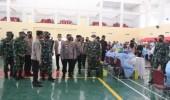 Panglima TNI dan Kapolri Tinjau Lokasi Vaksinasi di Kampus Untirta