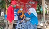 """Gelar Vaksinasi """"Door To Door"""" BIN  Banten Bersama Dinas Kesehatan Kota Serang."""