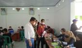 Tahap ke 2, Kegiatan Forum HRD Dan Kodim 0623/Cilegon Adakan Vaksinasi di Kecamatan Puloampel