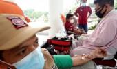 Semarak HUT Kabupaten Serang, Pejabat Pemkab hingga PSKS Donor Darah