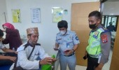 Utamakan Pelayanan, Jasa Raharja Banten Data Korban Laka Bus di Tol Tangerang Merak